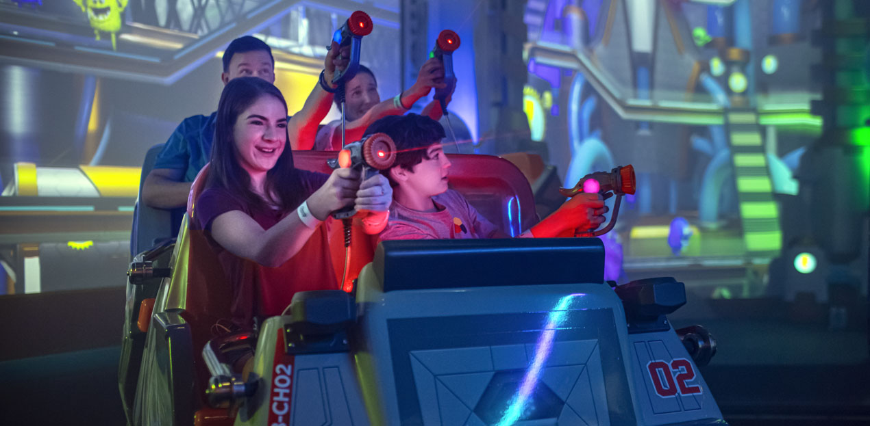 Alterface interactive game detection system sets record at Cupfusion in Hersheypark
