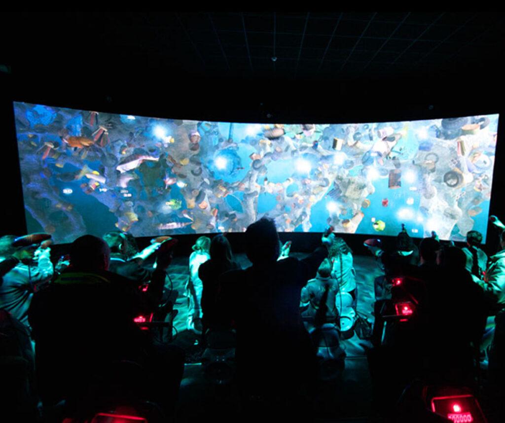Interactive Theatre Futuroscope
