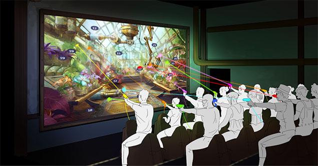 Interactive Theatre interactivity
