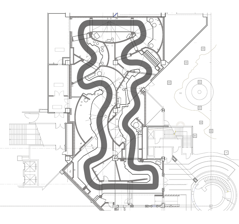 Dragons Wild Shooting, Track Layout