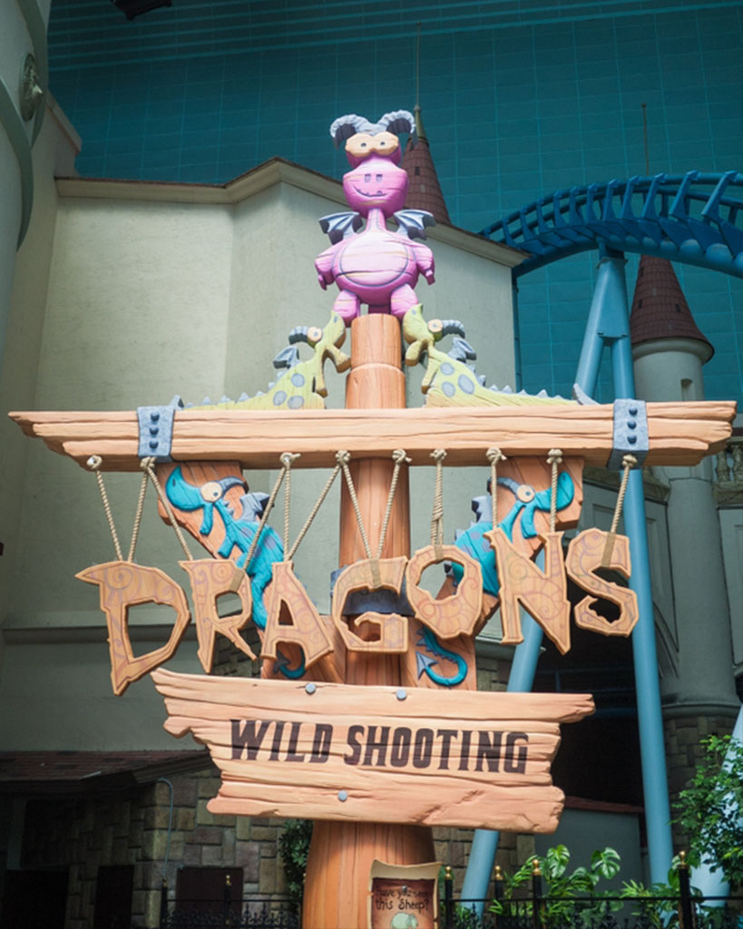 Dragons Wild Shooting logo