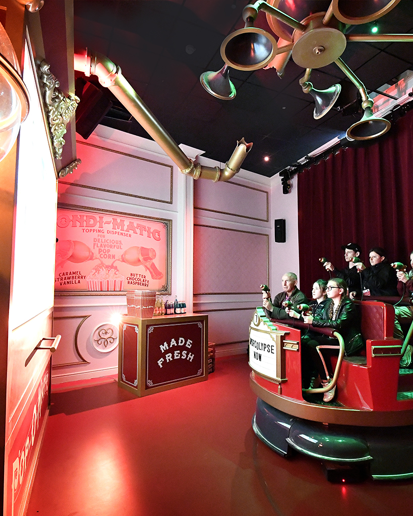 Erratic Dark Ride example