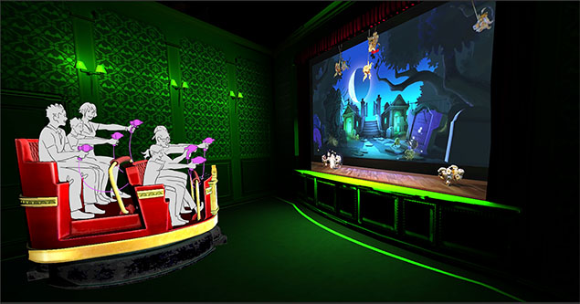 Erratic Dark Ride Interactivity