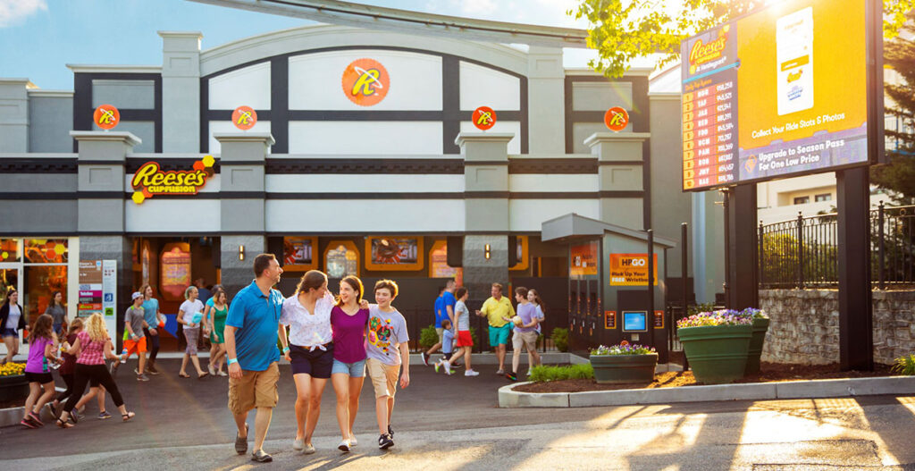 Reeses's Cup Fusion at Hersheypark