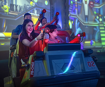 Reeses's Cup Fusion Interactive Dark Ride