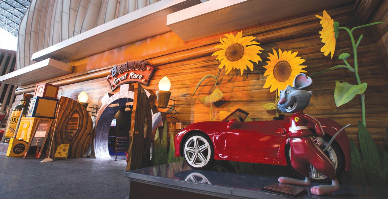 Benno's, Interactive Dark Ride, Dubai