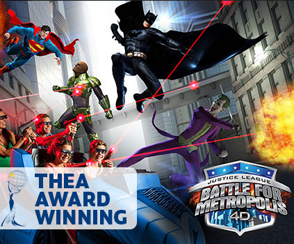 Justice League, Interactive Dark Ride