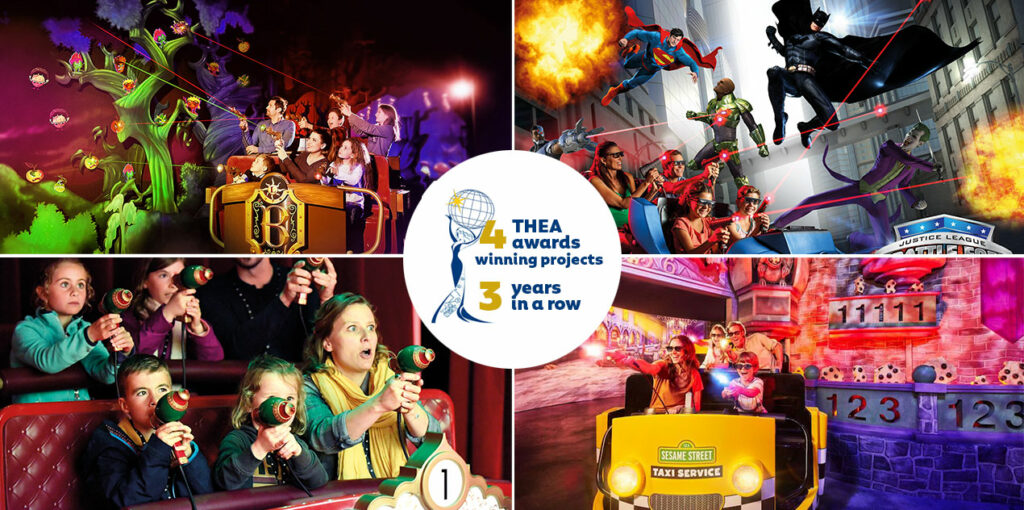 Thea Awards winning projects